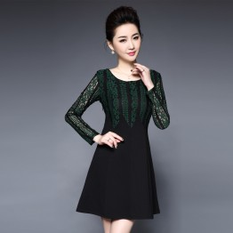 801 Women's middle-aged mother dress