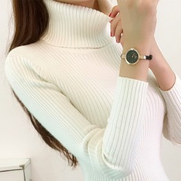 580 high collar bottoming long sleeves sweater