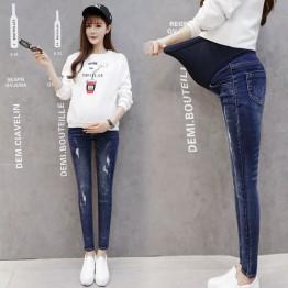 125 pregnant women pants pencil long jeans