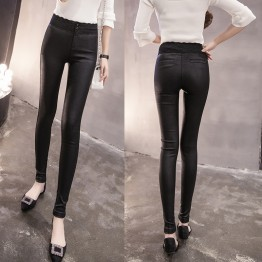 8809 lace high waist stretch pencil leggings