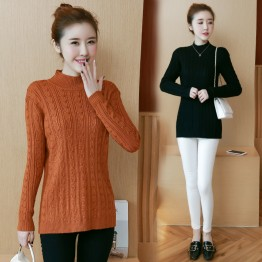 8050 large size women's fat sister thin sweater