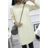9090 autumn and winter Korean fashion pure color long knitting sweater