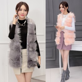 8240 autumn and winter imitation fox fur vest
