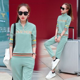 Autumn sports suit casual Korean Slim spring fashion casual clothes 80047#