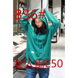 836 Korean fashion retro loose sweatshirt