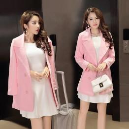 8236 long woolen coat