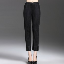 0230 Small feet elastic women's  pants