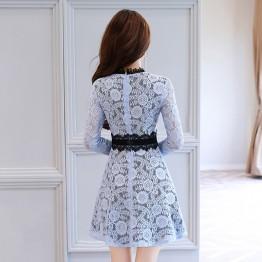 2620 elegant lace dress