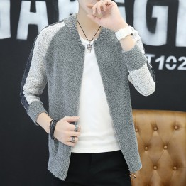 9135 men 's stand collar sweaters jacket
