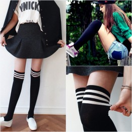 5199 Japanese preppy style knee socks