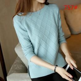757 women's long sleeve sleeves sweater