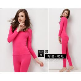 907 Women's cotton Lycra stretch comfort warm underwear suit