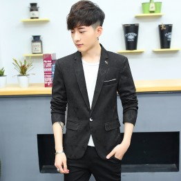 27619 men's casual fashion England style small suit
