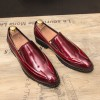 3965 pointed feet low-heeled business men's shoes
