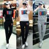 8095 fashion slim casual long sleeve tracksuit