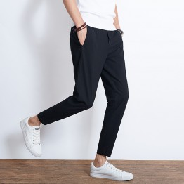 8801 linen men 's casual pants