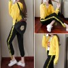 8611 sports and leisure fashion long sleeve jacket with pants