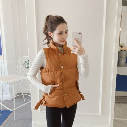 979-0 short thick down jacket vest