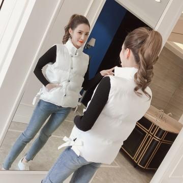 979-0 short thick down jacket vest