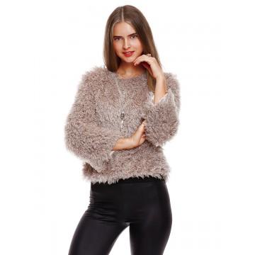 9828 autumn and winter lamb coat