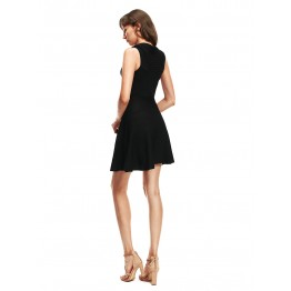 9808 Euramerica chest wrap dress