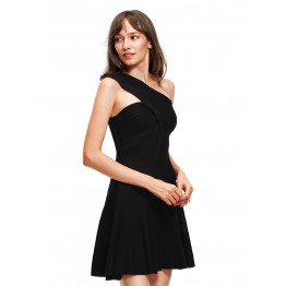 9807 Euramerica fashion one shoulder dress