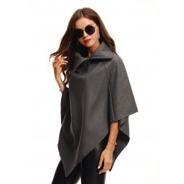 9815B plush coat cloak jacket