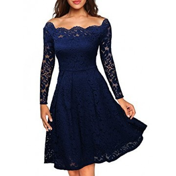 9835 lace one shoulder strapless dress