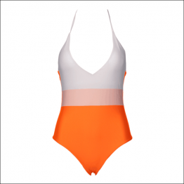 G0003 Solid Color One Piece Swimsuit Lady Sexy Bikini