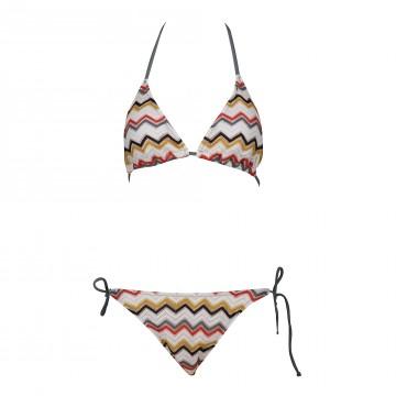 G0028 line with lace split swimsuit bikini