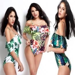 8987 printing bikini swimwear