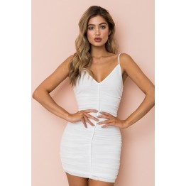 1012 New Sling Mesh Dress