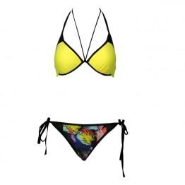 G0008 printed swimsuit split bikini